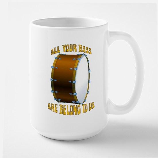 All Your Bass Large Mug