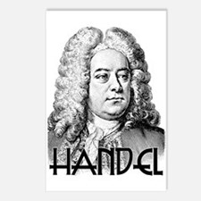 Handel Postcards (Package of 8)