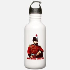 What Would Sousa Do Water Bottle