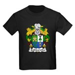 Zubizaretta Family Crest Kids Dark T-Shirt