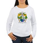Zubizaretta Family Crest Women's Long Sleeve T-Shi
