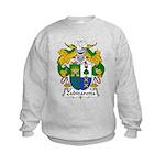 Zubizaretta Family Crest Kids Sweatshirt