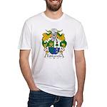 Zubizaretta Family Crest Fitted T-Shirt