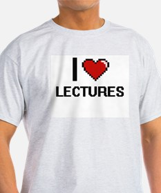 I Love Lectures T-Shirt