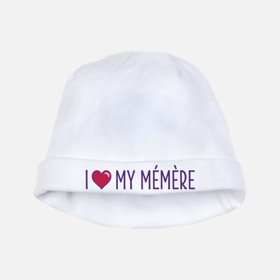I Love My Memere baby hat