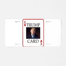 TRUMP CARD Aluminum License Plate