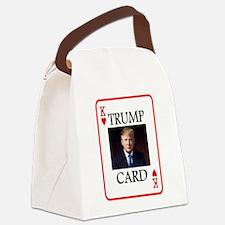 TRUMP CARD Canvas Lunch Bag