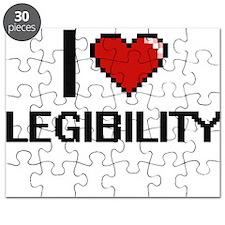 I Love Legibility Puzzle