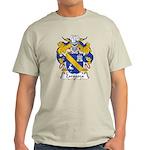 Zaragoza Family Crest Light T-Shirt