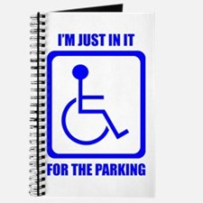 I'm Just In It For The Parking Journal