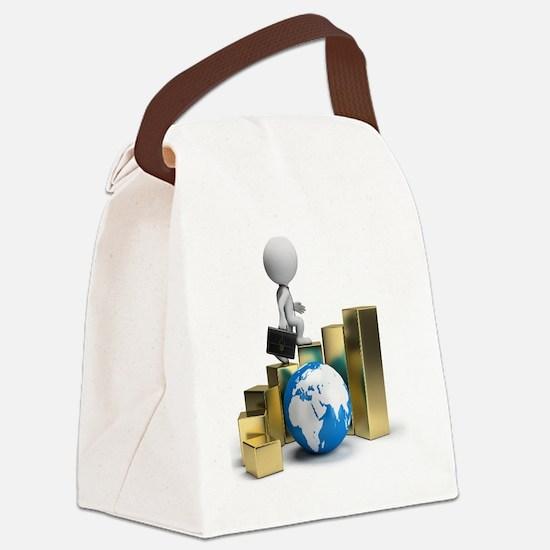 Success Steps Canvas Lunch Bag