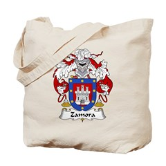 Zamora Family Crest Tote Bag
