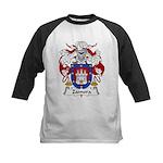 Zamora Family Crest Kids Baseball Jersey