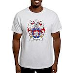 Zamora Family Crest Light T-Shirt
