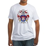 Zamora Family Crest Fitted T-Shirt