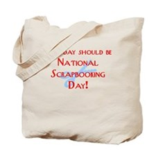 National Scrapbooking Day Tote Bag