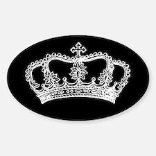 Vintage Crown Decal