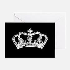 Vintage Crown Greeting Cards