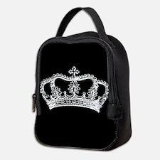 Vintage Crown Neoprene Lunch Bag