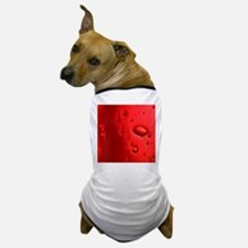 Red Bubbles Dog T-Shirt