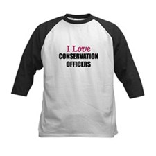 I Love CONSERVATION OFFICERS Tee