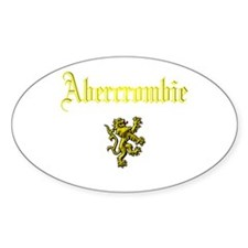 Abercrombie. Oval Decal