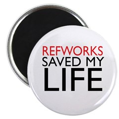 RefWorks Saved My Life Magnet