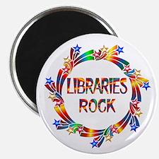"Libraries Rock 2.25"" Magnet (100 pack)"