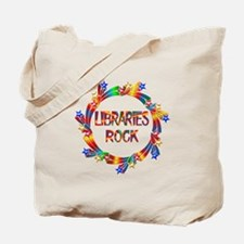 Libraries Rock Tote Bag