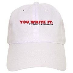 You Write It. We'll Cite It. Baseball Cap
