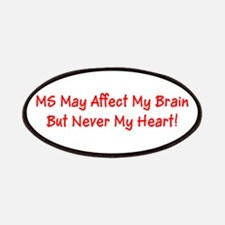 MS Affects My Brain Never My Heart Marge's F Patch