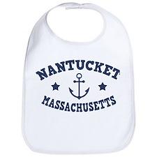 Nantucket Anchor Bib