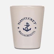 Nantucket Anchor Shot Glass