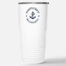 Nantucket Anchor Stainless Steel Travel Mug