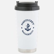 Nantucket Anchor Travel Mug