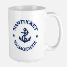 Nantucket Anchor Large Mug