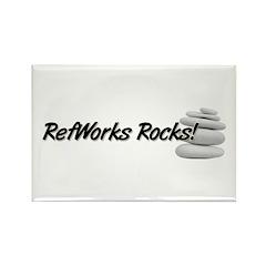 RefWorks Rocks! Rectangle Magnet (10 pack)