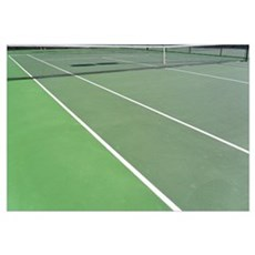 Tennis Court Framed Print
