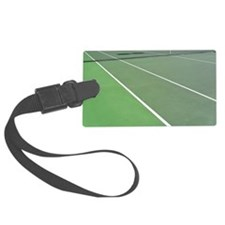 Tennis Court Luggage Tag