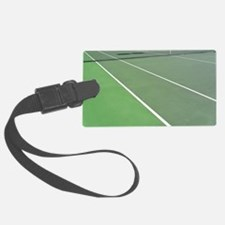 Tennis Court Luggage Tag