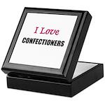 I Love CONFECTIONERS Keepsake Box