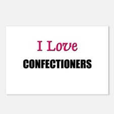 I Love CONFECTIONERS Postcards (Package of 8)
