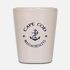 Cape Cod Anchor Shot Glass