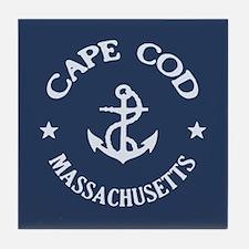 Cape Cod Anchor Tile Coaster