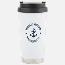 Martha's Vineyard Ancho Stainless Steel Travel Mug