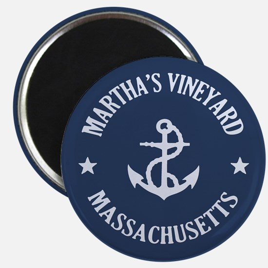 Martha's Vineyard Anchor Magnet