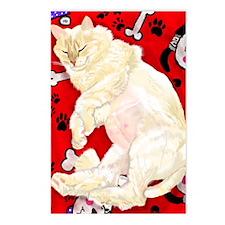 Caspar with Lion Cut on H Postcards (Package of 8)