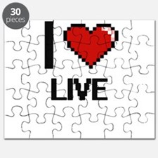 I Love Live Puzzle
