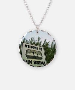 Cute Palm springs Necklace