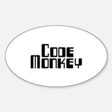 Code Monkey Decal